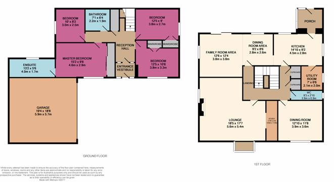 15 Earlspark Crescent Floor Plan