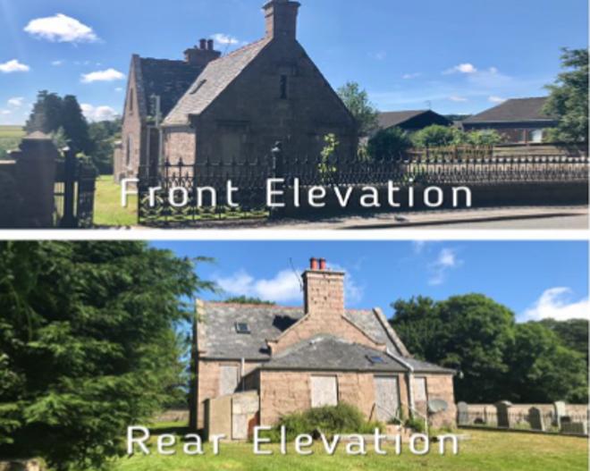 Cemetery Lodge, Castle Road, Ellon, AB41 9QP