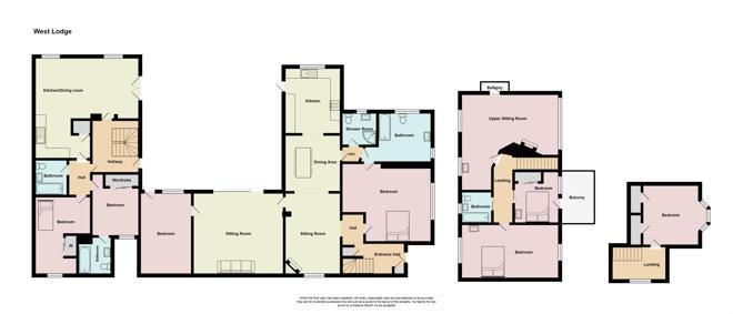 West Lodge Floor plan