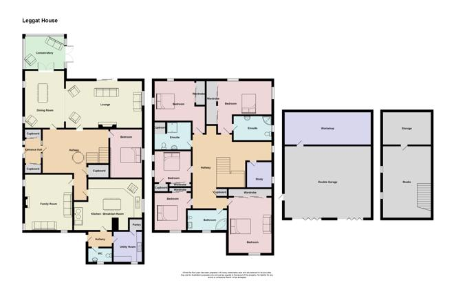 Floor Plan - Leggat House