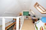 Workshop above garage