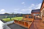 Decking & rear garden