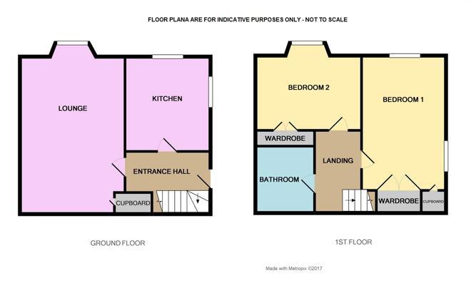Floor Plan not to scale