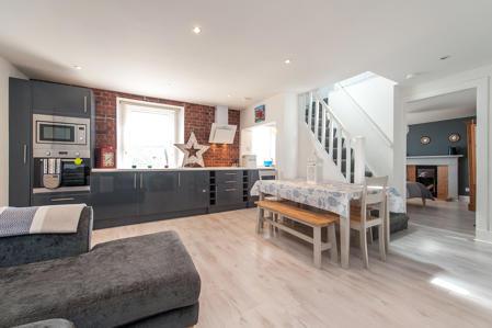 Smart Lounge on open plan to Kitchen